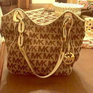 Michael Kors logo Shoulder Bag
